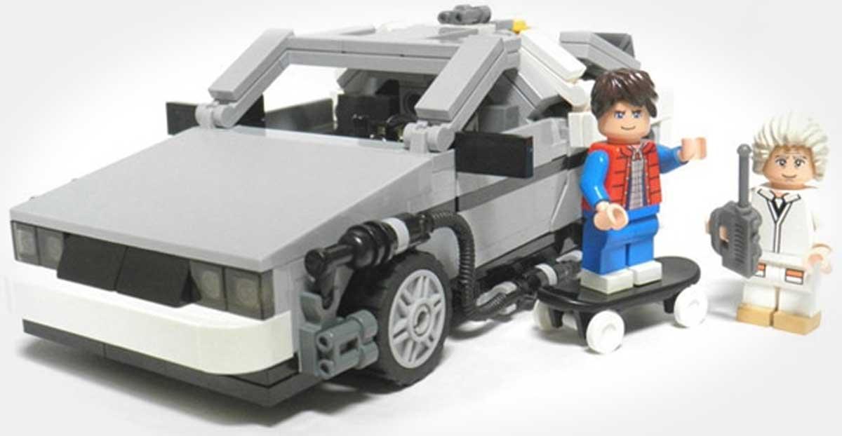 LEGO Sunar: Back to the Future!