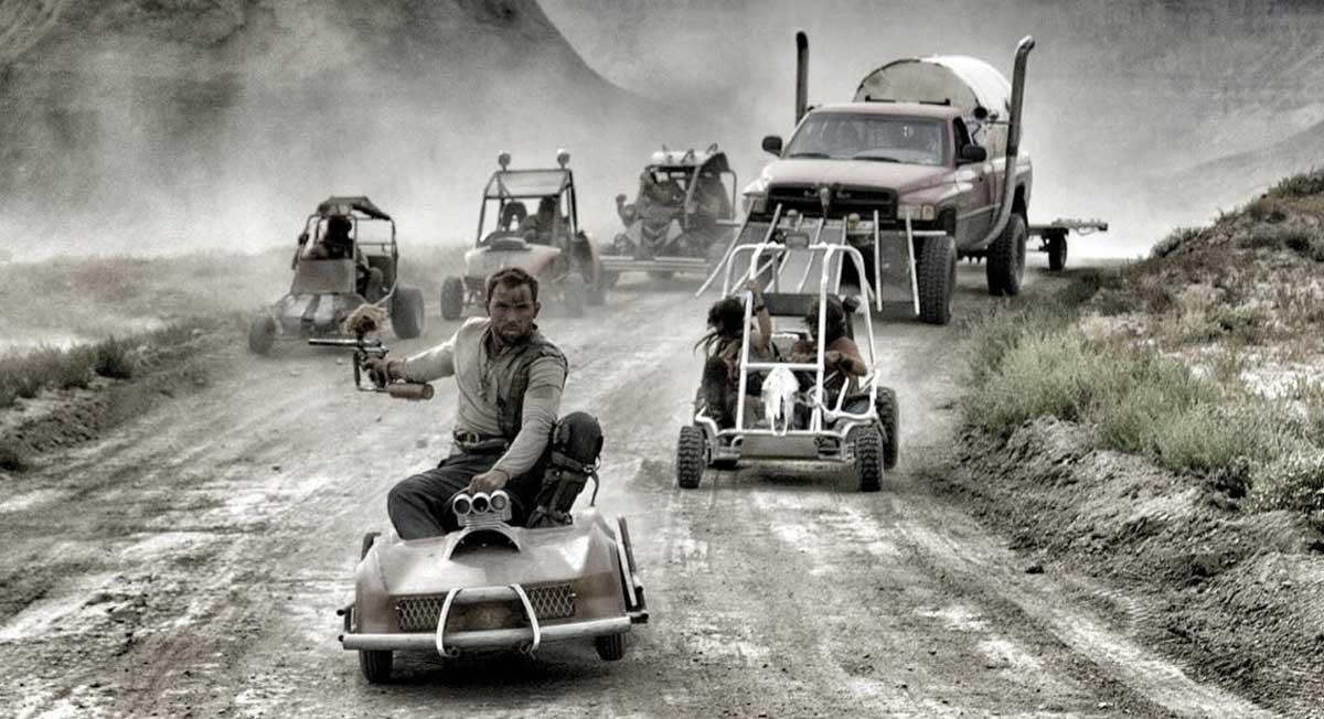 Mad Max ile GoKart Paintball Savaşı