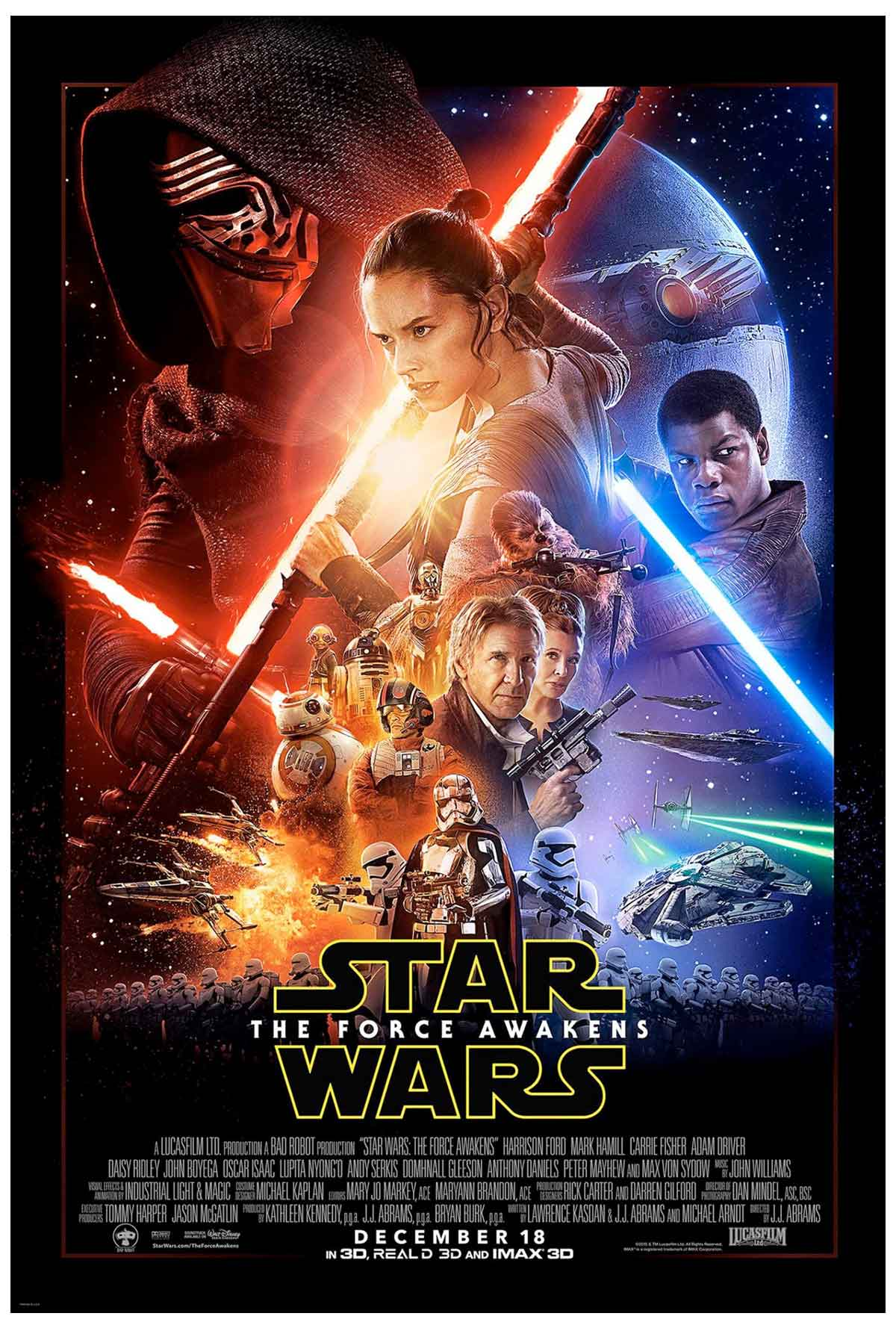star wars the force awakens afis Star Wars: The Force Awakensten yeni görüntüler ve afiş geldi