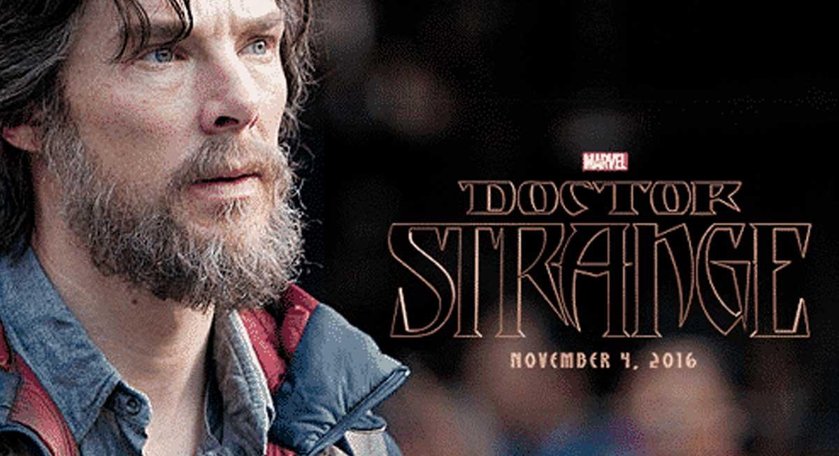 Doctor Strange filminin çekimlerinden ilk fotoğraf geldi