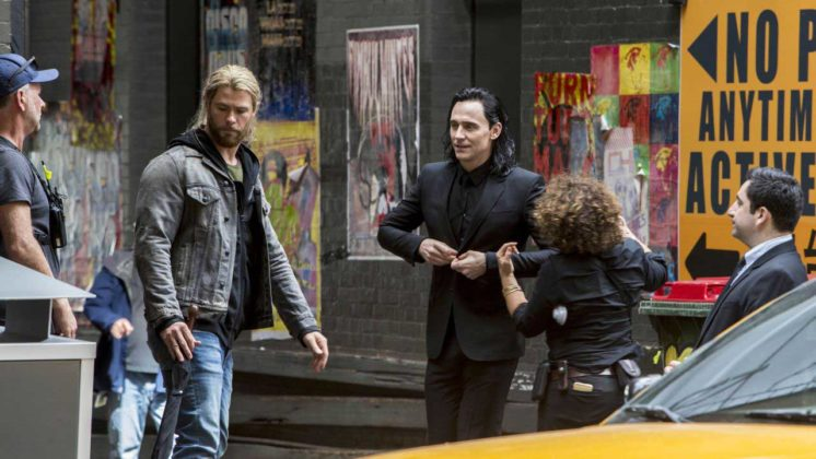 Thor Ragnarok Filmi 11 746x420 Thor: Ragnarok Setinden Fotoğraflar Geldi