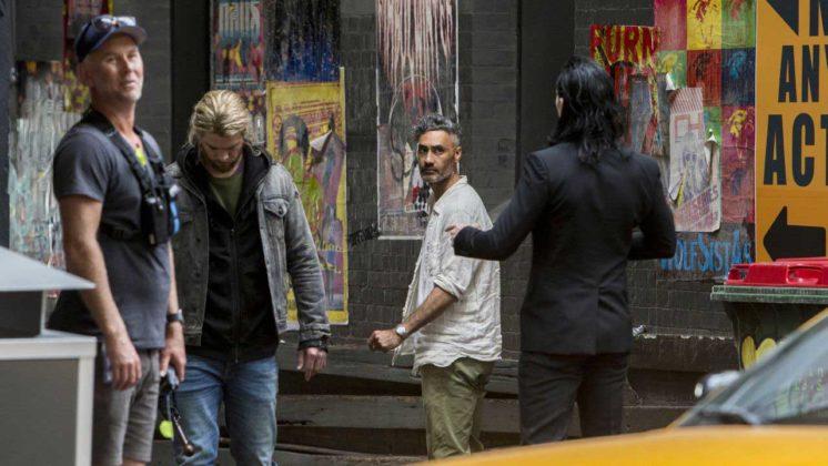 Thor Ragnarok Filmi 12 746x420 Thor: Ragnarok Setinden Fotoğraflar Geldi