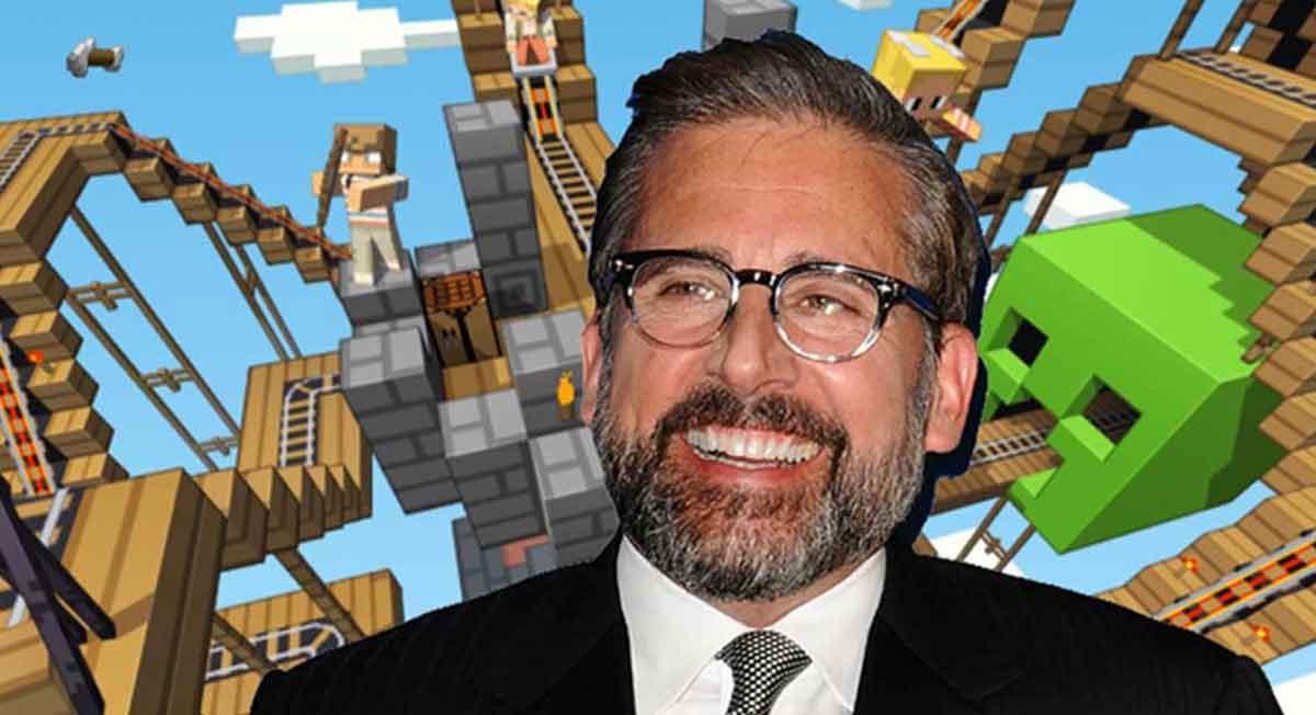 Steve Carell Minecraft Filmine Gözünü Dikmiş